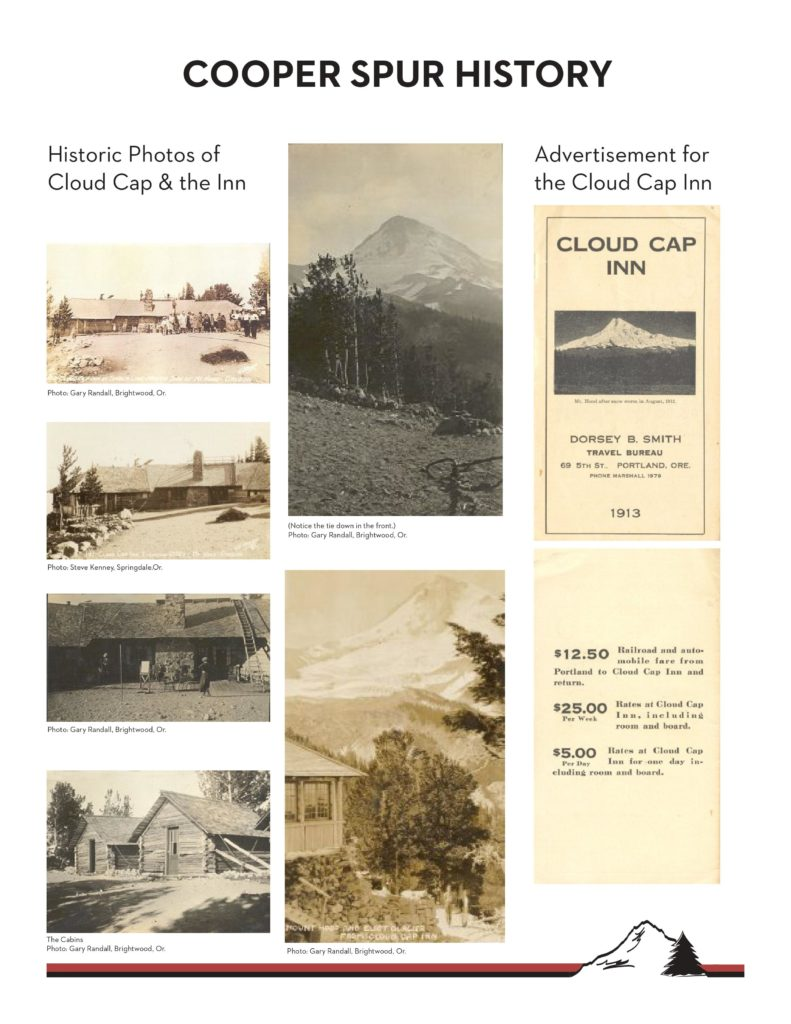 Cooper Spur History