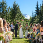 Outdoor Wedding Couple