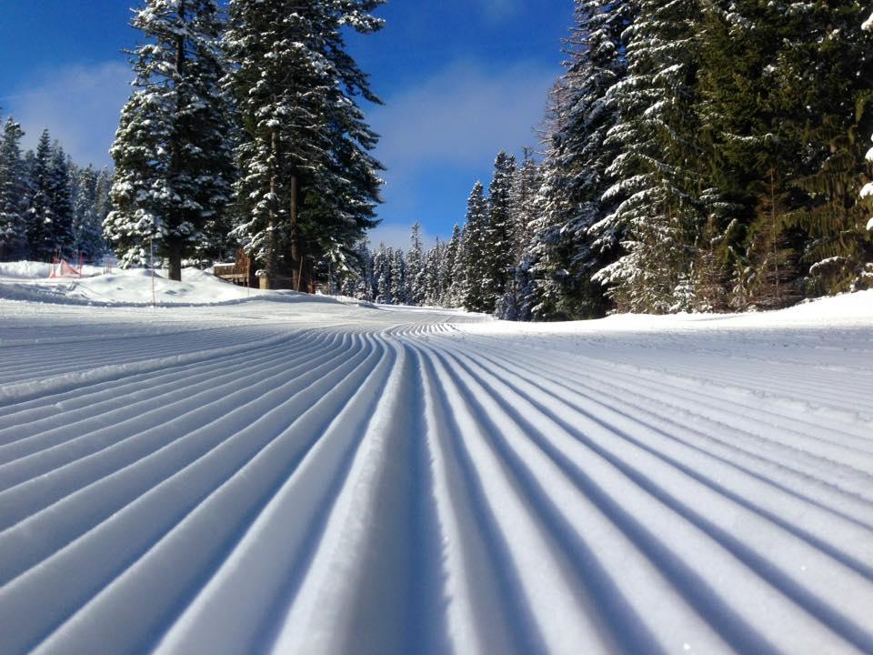 Cooper Spur Ski Area Grooming