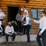 Wedding Party Outdoor Cabin