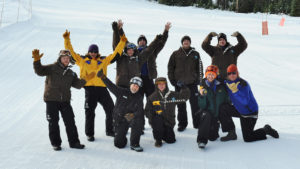 Cooper Spur Ski Area Team Outdoor Snow