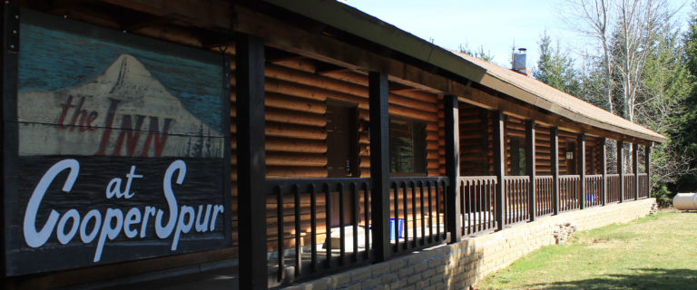 Main Lodge (with Rooms and Condos)- Lodging at Cooper Spur Mountain Resort