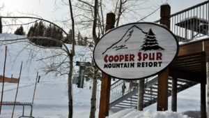 Cooper Spur Ski Area Sign