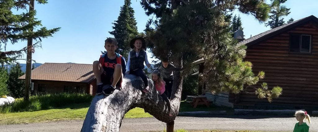 Kids on Crooked Tree Outdoors