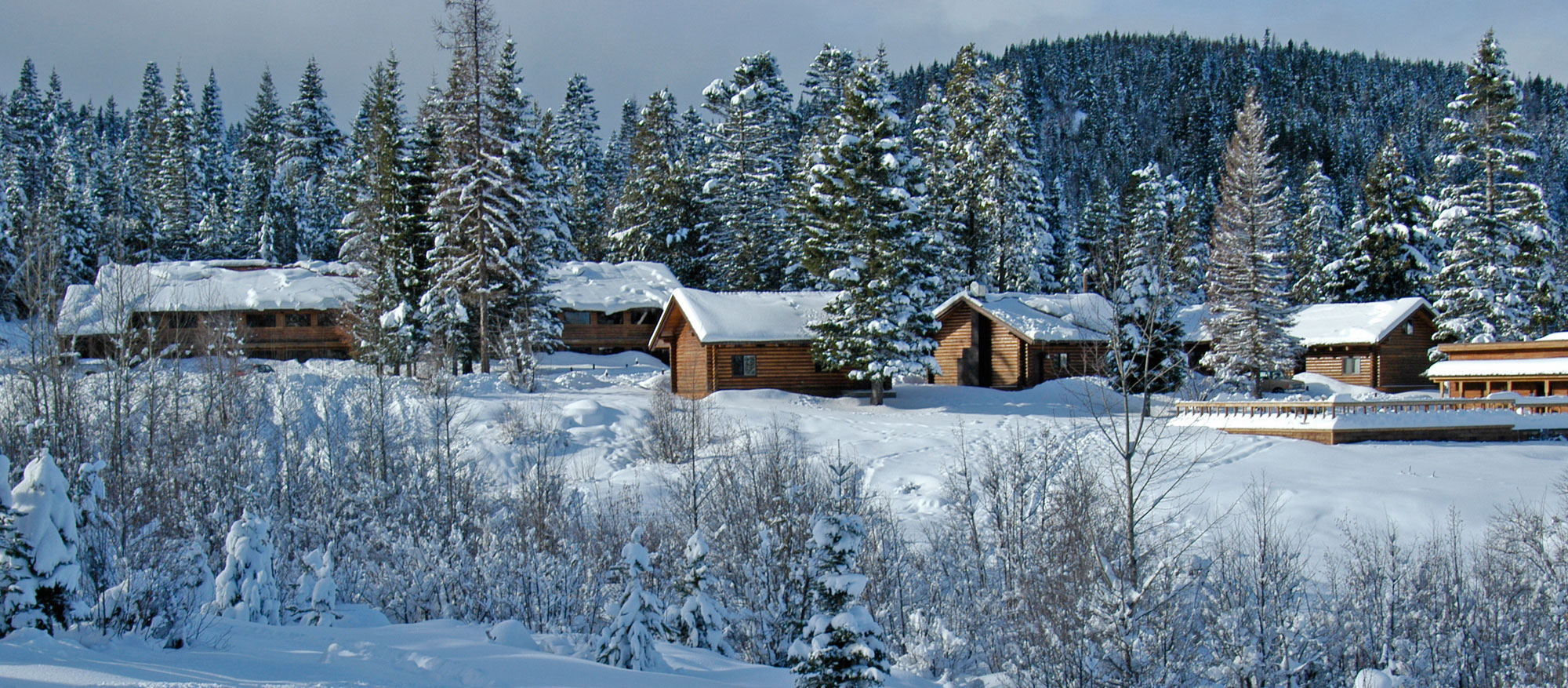 Cooper Spur Lodging Outdoors Snow