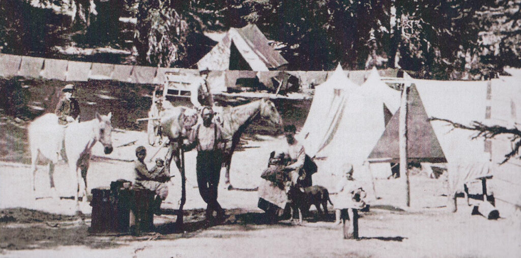 Summer Tent Camp 1889- History - Cooper Spur Mountain Resort Mount Hood