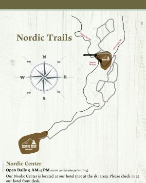 Cooper Spur Nordic Ski Trail Map